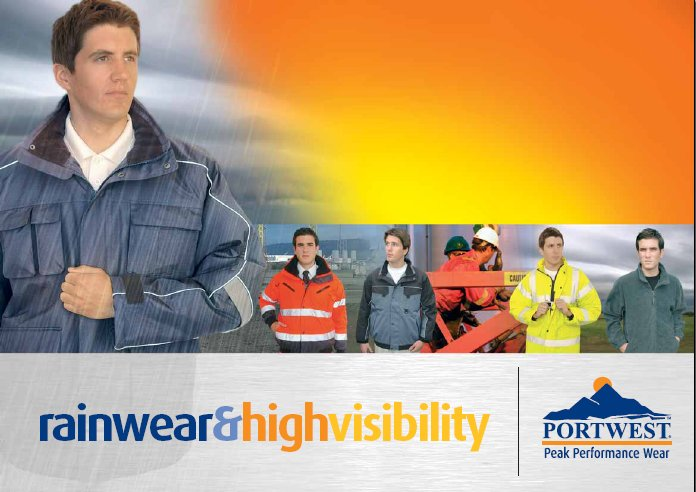 Portwest Rainwear Catalogue